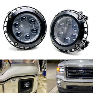 Projector Lens 30w High Power Led Fog Light Kit For Ford Chevrolet Gmc Jeep Ford