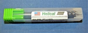 New helical Carbide End Mills 3 8 Dia X 2 Loc Sq 5 Flute 2 Pcs Available