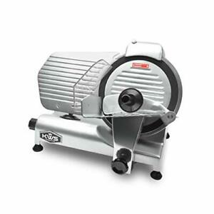 Kws Ms 10nt Premium Commercial 320w Electric Meat Slicer 10 inch With Non sticky