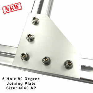 90 Degree Joining Plate 4040 Aluminum Profile Extrusion Bracket pack Of 2