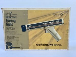Craftsman Vintage Sears Timing Light 161 2134 Great Condition
