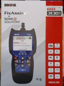 Innova Fixassist 3130rs Obd Scanner Car Code Reader With Abs Srs Live Data