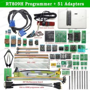 Rt809h Emmc nand Flash Programmer 51 Adapters With Cabel Emmc nand suction Pen