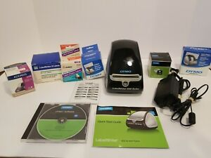 Dymo Labelwriter 450 Turbo Label Thermal Printer Black 1752265 With Extras
