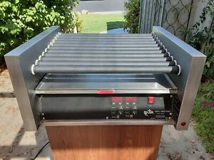 Star Grill Max Pro 30sce 30 Hot Dog Roller Grill With Electronic Controls