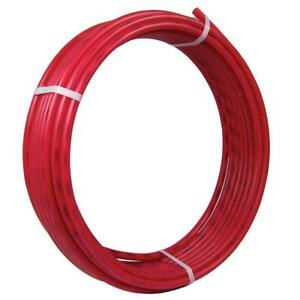 1 2 In X 50 Ft Red Pex Pipe Sharkbite Tubing Potable Water Plumbing Systems