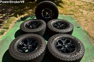 17 Jeep Gladiator Oem Launch Ed Factory Wheels M T Tires Rubicon Wrangler Jk Jl