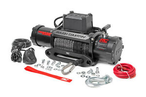 9500lb Pro Series Electric Winch With Synthetic Rope Rough Country