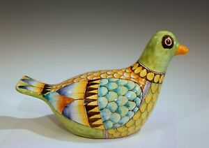 Innocenti Vintage Italian Pottery Duck Bird Pheasant Animal Figure Label Raymor