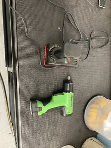 Snap on 9 6v 3 8 Cordless Impact Wrench Charger 2 Batteries Ct596g