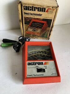 Vintage Actron Dwell Tach Tester Model 612