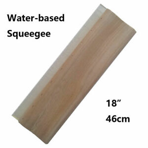 Techtongda 18 46cm Water Squeegee 65 Durometer For Screen Printing New Brand