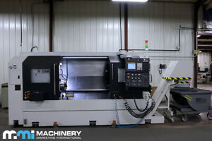 Feeler Ft 250mc Cnc Lathe 2015 Only 150 Hours