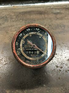 Vintage Early 1900 s Fire Engine Truck Rpm Tachometer chevy Ford Gmc Dodge