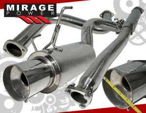 For 94 01 Acura Integra Gs r Dc2 2 5 Catback Exhaust Stainless Steel System
