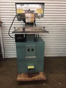 Baum 5 spindle Drill