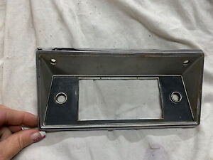 68 72 1968 1972 Ford Truck Radio Bracket Faceplate Metal