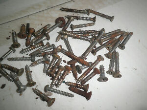 Willys Jeep Truck Overland Interior Trim Long Screws 1950 s