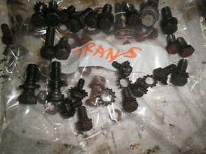 Willys Jeep Truck Overland T90 226 Hurricane Bell Housing Transmission Bolts