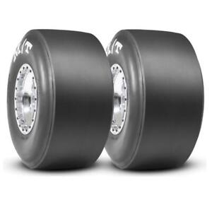 2 Mickey Thompson Et Drag Slick Racing Tires 26x10 15 Mt 3053 Pair