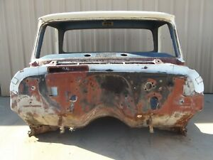 Chevrolet C10 Truck Big Window Replacement Cab 1966 1965 1964 Chevy Pickup C 10