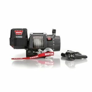 Warn 99963 5000 Dc Series 12v Electric Winch Ce New
