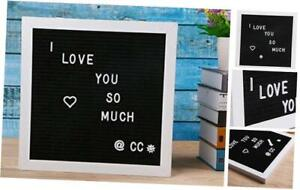 Letter Board Message Board Changeable Word Board Letter Sign 12 12 inches