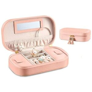 Small Tassels Travel Accessories Jewelry Box bag Gift Packing pink Home amp