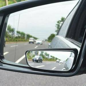 2x Universal Car Wide Angle Rear View Side Mirrors Hd Rearview Blind Spot Mirror