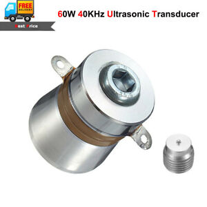 60w 40khz Ultrasonic Piezoelectric Transducer High Conversion Efficiency Cleaner