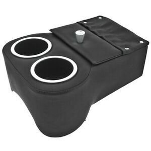 Low Rider Shorty Universal Musclecar Hotrod Floor Console Madrid Black