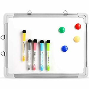 Small Dry Erase White Board Magnetic Portable Hanging Whiteboard Easel For Wall
