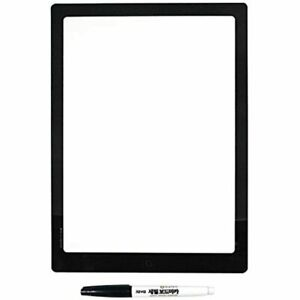 Dry Erase Board Refrigerator Whiteboard Wall Sticker Easy Removable Non Magnetic