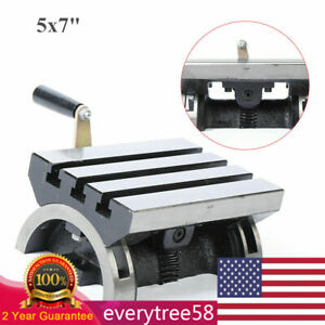 7 x5 Adjustable Angle Plate Tilting Work Table 45 For Cnc Milling Machine