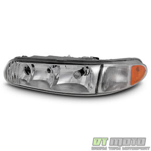 1997 2005 Buick Century 97 04 Regal Headlights Headlamps Replacement Driver Side