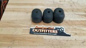 Jeep Tj Wrangler Rear Spare Tire Rubber Bumpers Set Of 3 2004 2005 2006 26641