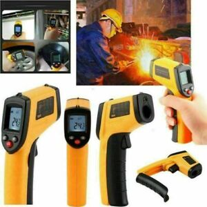 Us Non contact Ir Infrared Temperature Pyrometer Industrial Gun Thermometer Digi