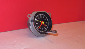 1967 1968 Mustang Shelby Dash Clock Restored With Quartz Gt 350 500 Mint