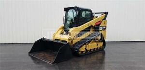 2017 Caterpillar 299d2 Xhp Cab Heat Air Track Skid Steer Loader Cat 299
