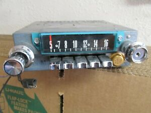 Ford Fomoco Classic Retro 3tmy 19462 Vintage Original Car Dash Radio Usa