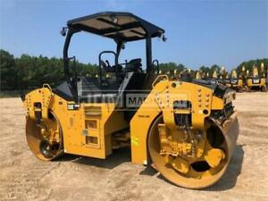 2015 Caterpillar Cb64b Vibratory Smooth Drum Roller Compactor Cb