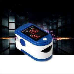 Pulse Fingertip Oximeter Blood Oxygen Spo2 Monitor Pr Heart Rate Testing Meter