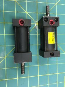 Parker Series S Pneumatic Air Cylinder 1 Bore 1 1 2 Stroke New 5 16 18 Rod