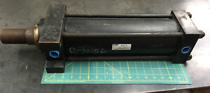 Parker Hydraulic Cylinder 4 Bore X 11 811 Stroke 3000 Psi Jj2hlr24ac Made Usa