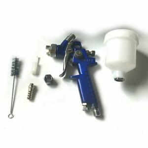 Mini 1 0mm Car Hvlp Spray Gun Detail Touch Up Paint Sprayer Spot Repair Tool Kit
