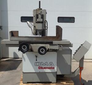 Okamoto Precision Grinder Fully Automatic With Electronic Chuck Model Oma 3 Ax