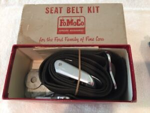 Ford Fomoco Rotunda Nos Vintage Seat Belt green