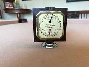 Antique Advertising Thermometer 1930s 1940s 1950s Accessory Chevy Ford Mopar