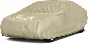 Coleman Full Car Cover Outdoor Indoor Waterproof For Dust Heat Size Small