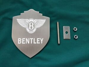 Bentley Grille Emblem Continental Gt Flying Spur Mulliner Bentayga New